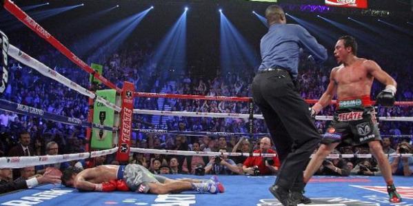 Juan Manuel Marquez pukul KO Manny Pacquiao di ronde 6.
