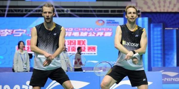 Mathias Boe dan Carsten Mogensen
